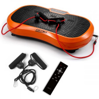 Remote-Controlled Vibration Shaking Exercise Machine w/ 3 Modes - Orange