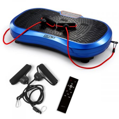Vibration Machine Whole Body Platform 120 Speeds 3 Channels - Dark Blue